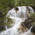A cascade along the Needle Creek Trail near the Chicago Basin.- Chicago Basin