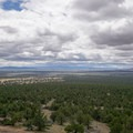 View from the Green Mountain Lookout Tower.- Green Mountain Fire Lookout Tower