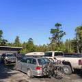 Public parking at Cox Bay.- Cox Bay