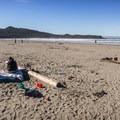 A beautiful day at Cox Bay, Tofino.- Cox Bay