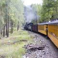 The Durango-Silverton Narrow Gauge Railroad.- Durango-Silverton Narrow Gauge Railroad