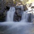 Falls along Cunningham Creek in Cunningham Gulch.- Cunningham Gulch