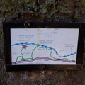 Helpful hand drawn map posted nearby.- North Island Viewpoint