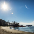 Halfmoon Bay, Pacific Rim National Park.- Halfmoon Bay