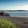 Ucluth Beach at Wya Point Resort.- Wya Point Resort Campground