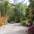 Be respectful of homes on Aspen Street near the Jud Wiebe Trailhead and Cornet Creek Falls.- Cornet Creek Falls