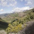 The view from the Via Ferrata toward Telluride.- Via Ferrata, Telluride