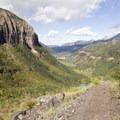 Views from the Via Ferrata.- Via Ferrata, Telluride