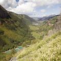 Telluride from the Via Ferrata.- Via Ferrata, Telluride