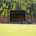 The venue at Town Park Campground.- Town Park Campground