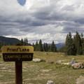 Priest Lake Campground.- Priest Lake Campground