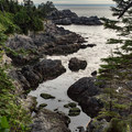 A rocky inlet along the Wild Pacific Trail, Lighthouse Loop.- Wild Pacific Trail, Lighthouse Loop