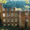 Old Mill ruins in Sweetwater Creek State Park.- Sweetwater Creek State Park