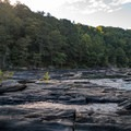 More rocky cascades.- Sweetwater Creek State Park