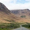 The Tablelands viewed from the approach on NL-431.- The Tablelands