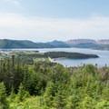 Norris Point, Bonne Bay, and the Tablelands.- The Tablelands