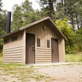 The facilities at Junction Creek Campground.- Junction Creek Campground