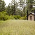 Facilities on Loop E in Junction Creek Campground.- Junction Creek Campground