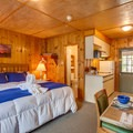 Cabin 2 interior. - The North Cascades Lodge at Stehekin