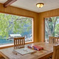 Alpine sun room.- The North Cascades Lodge at Stehekin