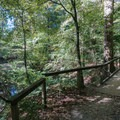 After losing some elevation, walk along this creek.- East Palisades