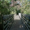 Bridge to the other parking area.- East Palisades
