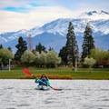 Gorgeous scenery for kayaking.- Sparks Marina