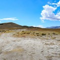 Area suitable for parking near the Ruby Valley Hot Springs.- Ruby Valley Hot Springs