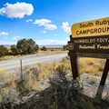 South Ruby Campground is located adjacent to Ruby Lake National Wildlife Refuge.- South Ruby Campground