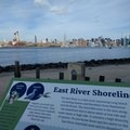 The interpretive signs tell the story of the park's past.- East River State Park