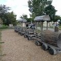 This is the only train that comes to this park!- East River State Park