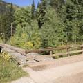 A viaduct near the parking lot at Cascade Creek.- Cascade Creek Trail