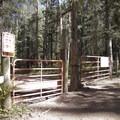 The Cascade Creek Trailhead.- Cascade Creek Trail