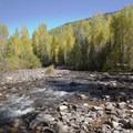 Cascade Creek.- Cascade Creek Trail