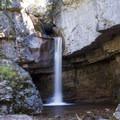 Unnamed falls on Engine Creek near the Cascade Creek Trail.- Cascade Creek Trail