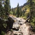 The Highland Mary Lakes Trail.- Highland Mary Lakes