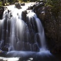 One of the many cascades along the Highland Mary Lakes Trail.- Highland Mary Lakes