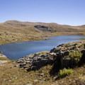 The second of the Highland Mary Lakes.- Highland Mary Lakes