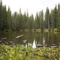 A small pond along the Lizard Head Trail to Wilson Meadows.- Wilson Meadows