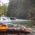 The put-in.- Opal Creek: Mine to Three Pools
