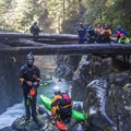 Opening season means lots of spectating and enjoying the scenery at Big Fluffy.- Opal Creek: Mine to Three Pools