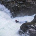 Another clean launch off of Big Fluffy.- Opal Creek: Mine to Three Pools