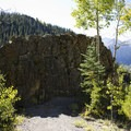 A quartzite fin along the Sneffels Highline Trail.- Sneffels Highline