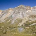Gilpin Peak from the Sneffels Highline Trail.- Sneffels Highline