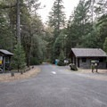 Camp entrance.- Patrick's Creek Campground