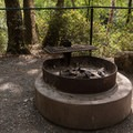 General firepits.- Patrick's Creek Campground