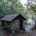 Bathroom in the picnic area.- Patrick's Creek Swim + Picnic Area