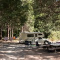Typical site in Madrona Campground.- Madrona Campground