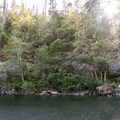 Beautiful and quiet, crystal clear waters of the Smith River.- Sandy Beach