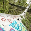 The wreckage of the Canso Plane Crash. - Canso Plane Crash Hike